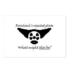 Rorschachs Rejected Plate 5 Postcards (Package of