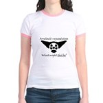 Rorschachs Rejected Plate 5 Jr. Ringer T-Shirt