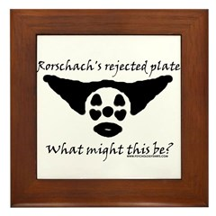 Rorschachs Rejected Plate 5 Framed Tile