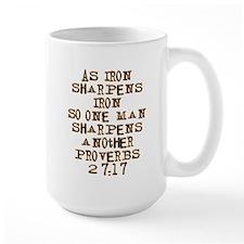Proverbs 27:17 Mug