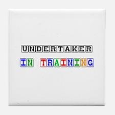 Undertaker In Training Tile Coaster