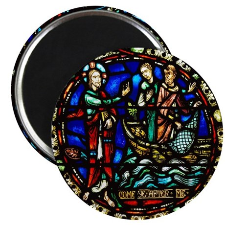 """Jesus Calling the disciples 2.25"""" Magnet (10 pack)"""