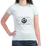 Rorschachs Rejected Plate 6 Jr. Ringer T-Shirt