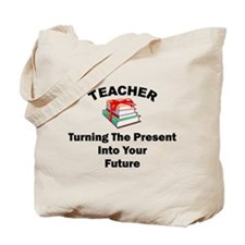 Teachers Present Tote Bag
