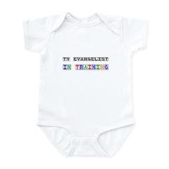 Tv Evangelist In Training Infant Bodysuit