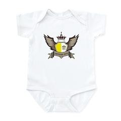 Vatican City Emblem Infant Bodysuit