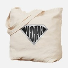 SuperVegan(Metal) Tote Bag