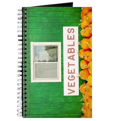 Vegetables Pumpkins Journal