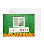 Vegetables Pumpkins Greeting Cards (Pk of 10)