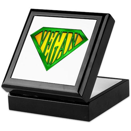 SuperVegan(Green) Keepsake Box
