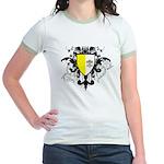 Stylish Vatican City Jr. Ringer T-Shirt