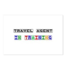 Travel Agent In Training Postcards (Package of 8)