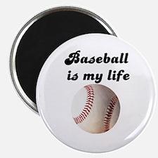 Cute Baseball is life Magnet