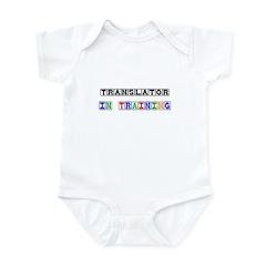 Translator In Training Infant Bodysuit
