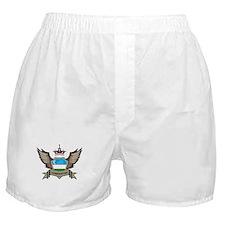 Uzbekistan Emblem Boxer Shorts