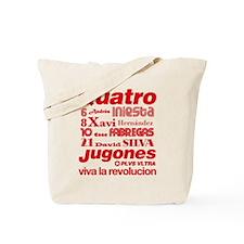 Quatro Jugones Tote Bag