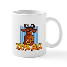 100% bull Mug