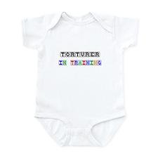 Torturer In Training Infant Bodysuit