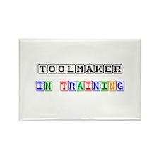 Toolmaker In Training Rectangle Magnet