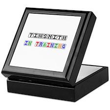 Tinsmith In Training Keepsake Box