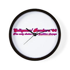 Seligman/ Bandura '08 Wall Clock