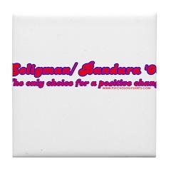 Seligman/ Bandura '08 Tile Coaster