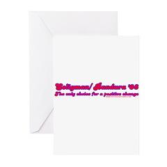 Seligman/ Bandura '08 Greeting Cards (Pk of 20)