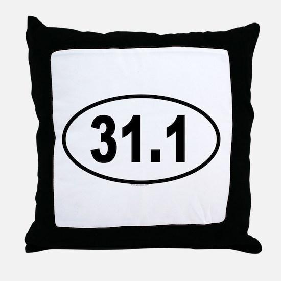 31.1 Throw Pillow