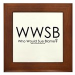 Who Would Sue Blame? Framed Tile