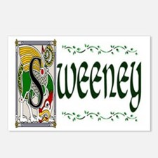 Sweeney Celtic Dragon Postcards (Package of 8)