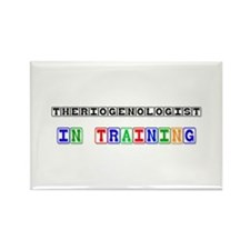 Theriogenologist In Training Rectangle Magnet