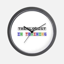 Theologist In Training Wall Clock