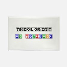 Theologist In Training Rectangle Magnet