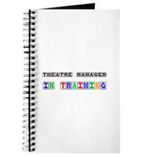 Theatre Manager In Training Journal