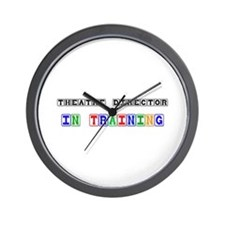 Theatre Director In Training Wall Clock