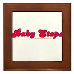 Baby Steps Framed Tile