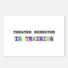 Theater Director In Training Postcards (Package of