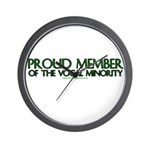 Proud Member of The Vocal Min Wall Clock