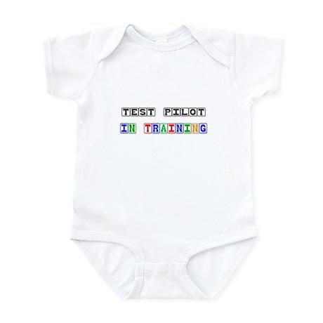 Test Pilot In Training Infant Bodysuit
