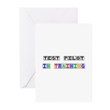 Test Pilot In Training Greeting Cards (Pk of 10)