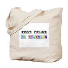 Test Pilot In Training Tote Bag