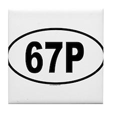 67P Tile Coaster