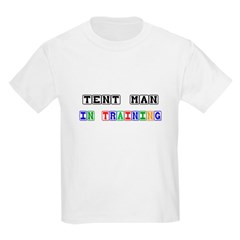 Tent Man In Training T-Shirt