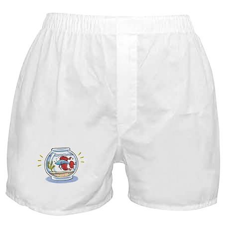Beta Fighting Fish Boxer Shorts