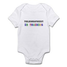 Telegraphist In Training Infant Bodysuit