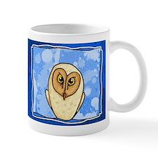Owl in blue Mug