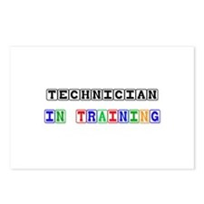 Technician In Training Postcards (Package of 8)