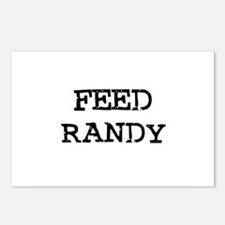 Feed Randy Postcards (Package of 8)
