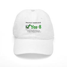 Yes on 8 Baseball Cap