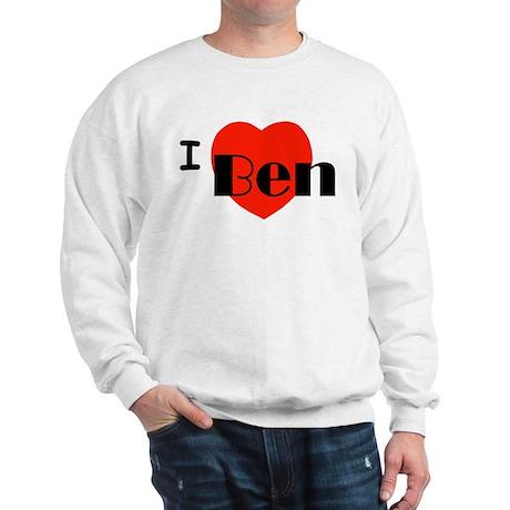 I Love Ben Sweatshirt